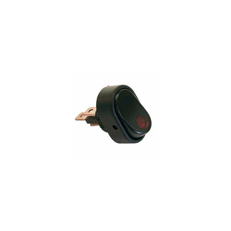 interrupteur a bascule led rouge maxter. Black Bedroom Furniture Sets. Home Design Ideas