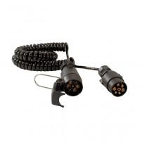 Rallonge Spirale 7 conducteurs - 5M