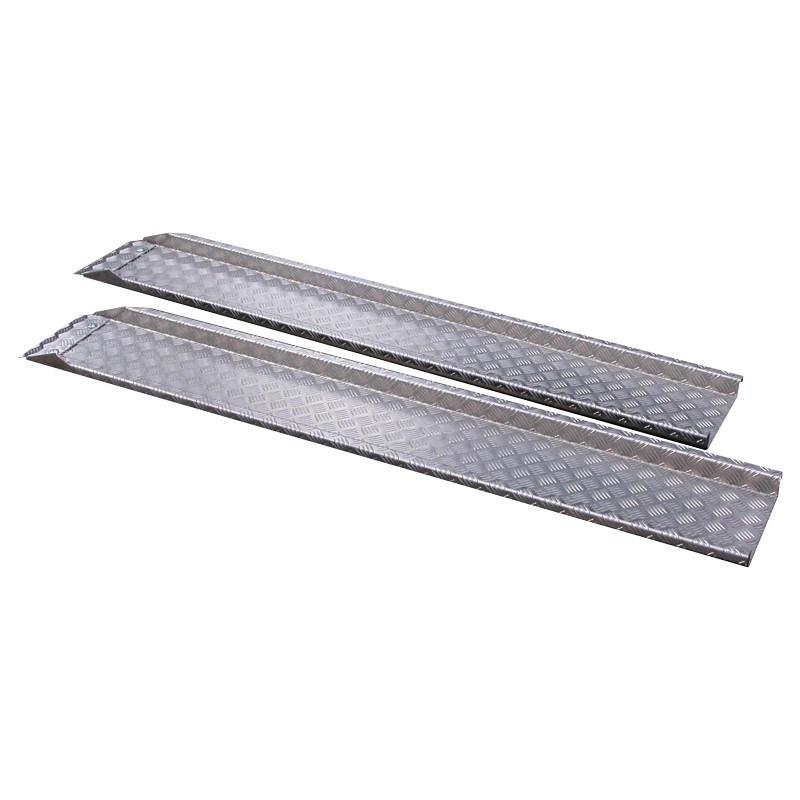 rampe de mont e aluminium 190x27 cm par 2 rampes de. Black Bedroom Furniture Sets. Home Design Ideas