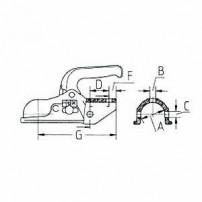Boitier Attelage - KF7,5 & KF13 - KNOTT