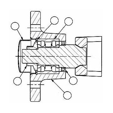 ROULEMENT CARTOUCHE - MOYEU NOUVEAU MODELE