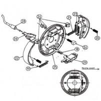 Kit Freins RA3 - Moyeu 1640 - RTN/GOETT