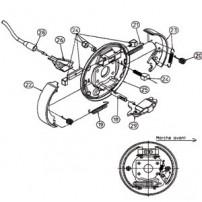 Kit Freins RA2 - Moyeu 2035 - RTN/GOETT