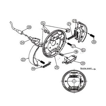 Kit Machoires RA3 - Moyeu 2035 - RTN/GOETT