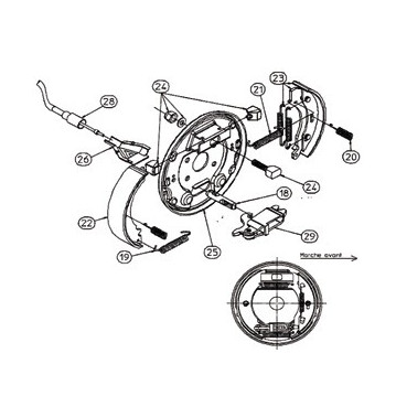 Kit Machoires RA3 - Moyeu 1640 - RTN/GOETT