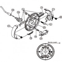 Kit Ecarteurs RA2 - Moyeu 2340 - RTN/GOETT