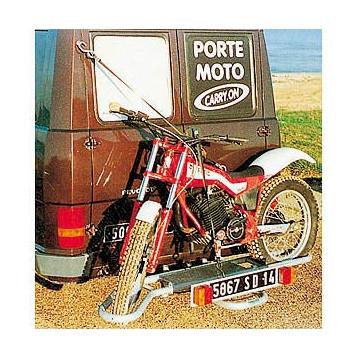 Porte Moto sur Attelage CARRY ON