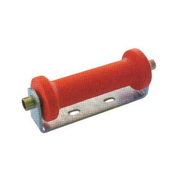 Diabolo Remorque Rouge - 250x75x95 mm