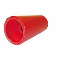 Cone Plat - Plastique - Rouge