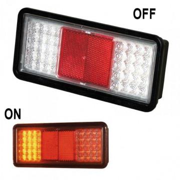 Feu 3 fonctions a LEDS - Gauche / Droit - SIM