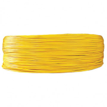 Câble 2 mm² - Jaune - 1 Mètre
