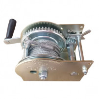 Treuil de Halage 5N1 - 596KG + Cable acier