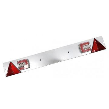Plaque LED Galvanisée 1M04 - Alim 4M