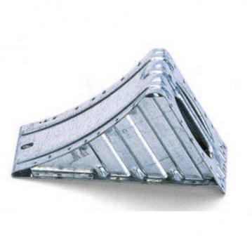 Cale de Roue Aluminium - 300x120 mm