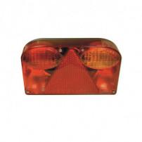 Feu magnétique avec éclaireur de plaque - SACEX 2715 - Droit