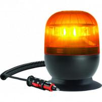 Gyrophare EUROROT magnétique orange 12 V - IP55 - H. 120 mm - Ø 148 mm