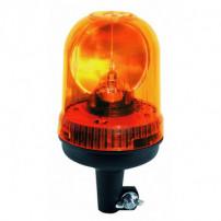 Gyrophare PULSAR tige rigide 12/24 V - IP65 IP66 - H. 235 mm - Ø 142 mm