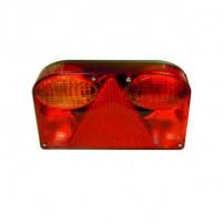 Lanterne arrière horizontale - CEA 2715 - Gauche : éclaireur de plaque