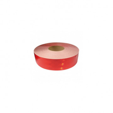 Rouleau de bandes réfléchissantes adhésives - Rouge