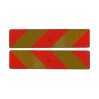 Plaques Reflechissantes - 565x140 mm (par 2)