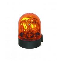 Gyrophare MICROROT à poser ambre H1 24 V - H. 161 mm - Ø 158 mm