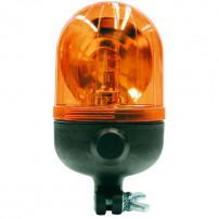 Gyrophare MICROROT tige rigide 12 V - H. 204 mm - Ø 110 mm