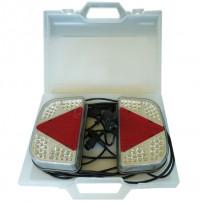 Equipement magnétique lanterne intégrale LED Alimentation 7,50 m - valisette