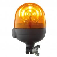 Gyrophare MICROBOULE tige rigide 12 V - H. 173 mm - Ø 110 mm