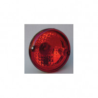 Feu rond droit/gauche - Rouge 1 fonction antibrouillard