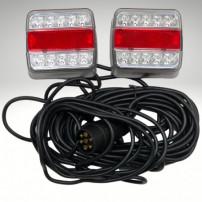 Equipement magnétique à LED Alimentation 7,50 m Entre feux 4 M