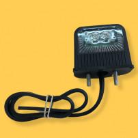 Pack de 2 éclaireurs de plaque LED 12/24V SIM