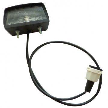 Eclaireur de Plaque - 68x35x38 mm (câble 1,5M)