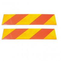 Plaques Reflechissantes Adhesives - 565x132 mm (par 2)