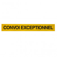 Panneau Convoi Exceptionnel - 1900 x 250 mm