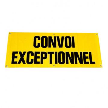Panneau Convoi Exceptionnel - Tissu - 1200x400 mm
