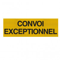 Panneau Convoi Exceptionnel - Double Face