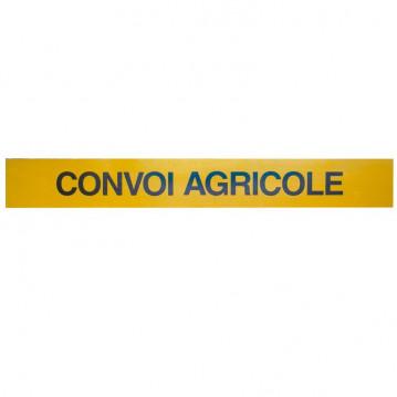 Panneau Convoi Agricole - 1900 x 250 mm