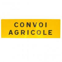 Panneau Convoi Agricole - Double Face