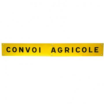 Panneau Convoi Agricole - Tissu - 1900x250 mm