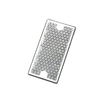 Catadioptre Blanc a Visser - 105x54 mm
