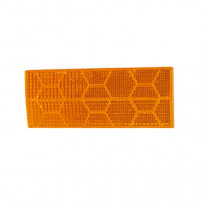 Catadioptre Orange Adhesif - 110x44 mm