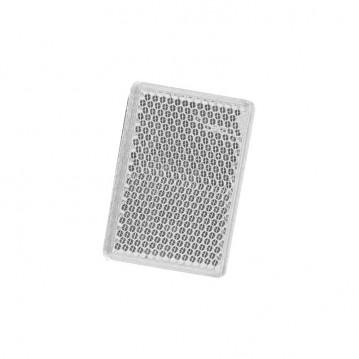 Catadioptre Blanc Adhesif - 57x39 mm