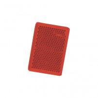Catadioptre Rouge Adhesif - 57x39 mm