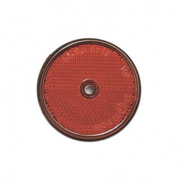 Catadioptre Rouge a Visser - Diam 60 mm
