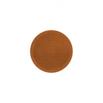 Catadioptre Orange Adhesif - Diam 60 mm