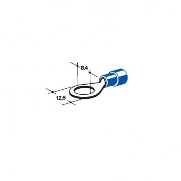 Cosse - Diam 8 mm - Bleu (Par 100)
